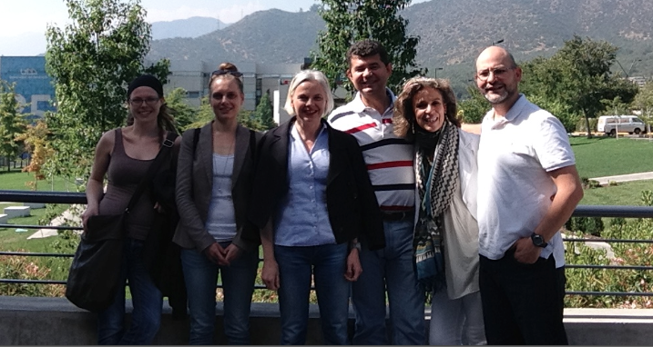 women entrepreneurs team at UDD, Satiago, Chile